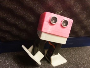 Bobwi - Cheap, dancing robot. (with BT and easy to print)
