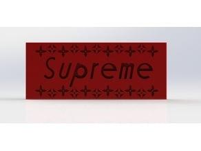 Suprme Box Logo