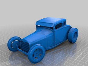 Model A Hot Rod Coupe (fenderless)