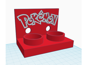 Pokeball Plus Dockingstation Stand for two