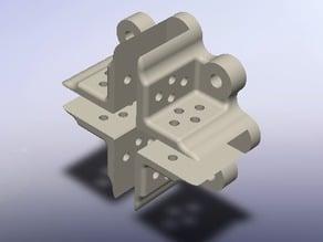 Brusless DC Motor mount for 6mm DEPRON models