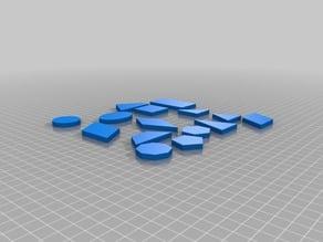 Geometry shape manipulatives