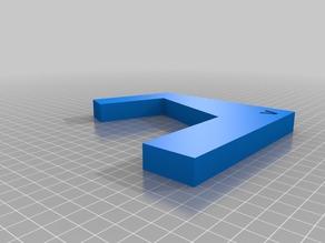 Schéma du contour de la forme possiblement connue