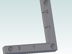 Left Ninety cnc router Jig