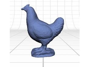 Chicken toy scan