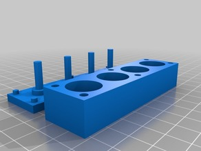 Creality Ender 4, CR-10 Anet A8 A6 AM8 silicone damper springs mold