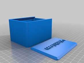 My Customized Round Box with Lid