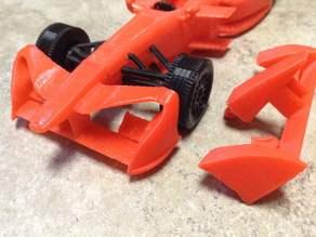Season 3 Front Wing for Formula E Race Car