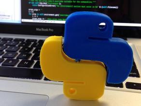 Python Logo (half)