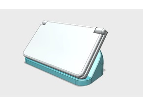 """(""""NEW"""") 3DS XL Stand v.1.2 (Solid Back)"""