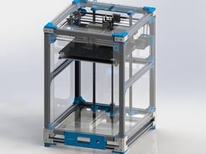 Ultimaker 2 Extended Aluminum Extrusion 3D Printer