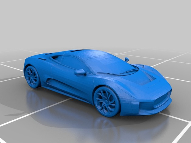 Jaguar cx 75 by stunner2211 thingiverse thingiview publicscrutiny Image collections