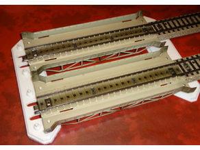 Pillars for Märklin tin - bridges - double version