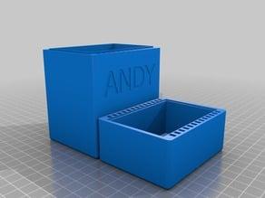 Deck Box - Magnetic Closure