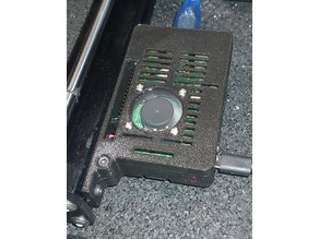 Pi 3B Case for Prusa MK3/s (remix)