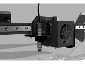 Creality Ender 3 X Axis Linear Rail Mod