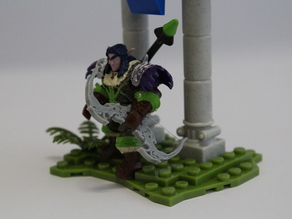 Bow for WoW mini fig.