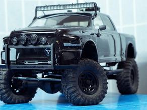 Axial SCX10 Dodge Ram Front Bumper Bar