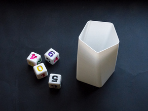 Simple dice cup