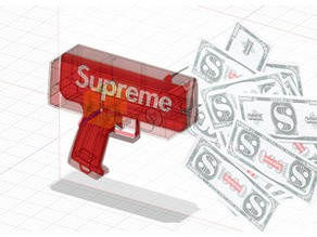 Supreme Money Gun w/ a bigger motor