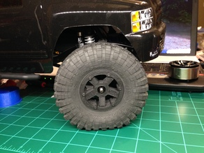1.9 bead lock wheel for Axial SCX10 or Wraith. 12mm Hex