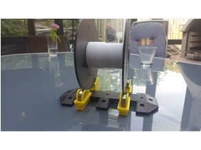 Remixed spool holder plates.