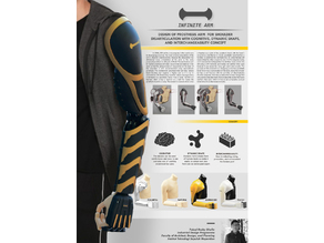 CRE-012 Infinite Arm - Low-Cost Prosthetic Arm for Shoulder Disarticulation - iDIG (Integrated Digital Design Laboratory), Department of Industrial Design ITS Indonesia