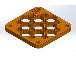 40mm fan octagon grill