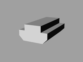 T-nut Blank for Tevo Extrusion