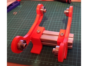 Reel mount for 3030 extrusion