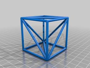 Tetrahedron In Cube
