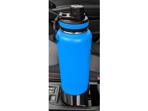 Subaru Crosstrek 2018+ / Impreza 2017+ cupholder adapter for 40oz Takeya water bottle
