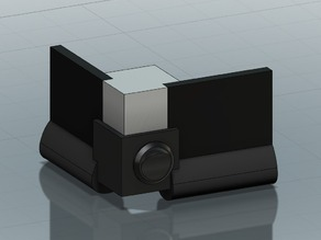 Corner Bracket with Rocker Switch Insert for QU-BD Revolution and RXL 3D Printers