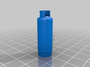 118L gas cylinder 1/35 scale