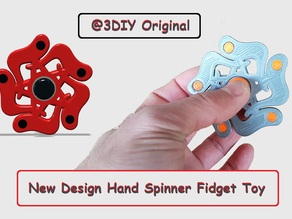 New Hand Spinner Fidget Toy For Ball Bearing 625z