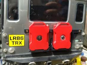 TRX-4 Rear Door Mount Low Profile