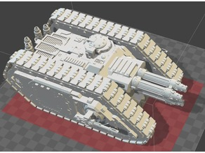 Orthrus Destroyer Tank (30k/40k/Titanicus Proxy)