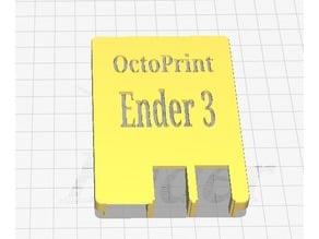 OctoPrint Ender 3 RasPi3 Case