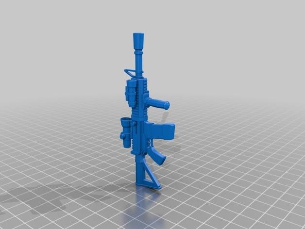 fortnite thermal scoped assault rifle - fortnite thermal