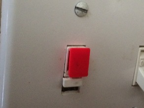 X-10 wall switch replacement button