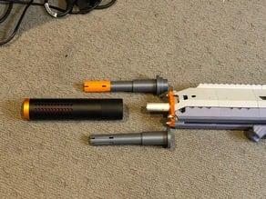 Worker Suppressor Adapter for Caliburn (VF1 Internal Muzzle Brake)