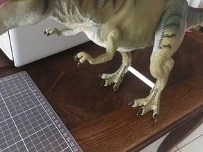 Jurassic park Legs fix for Kenner T-Rex Thrasher