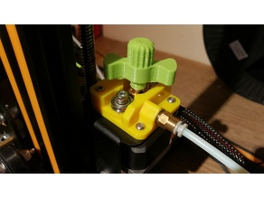 CR-10 (or other printers) Manual Extruder Feeder