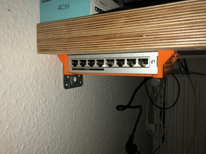 UniFi Switch wall / under table mount