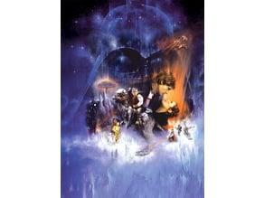 Star Wars: Episode V - The Empire Strikes Back - Movie Poster Lithophane