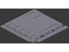 Micro ATX Motherboard Tray (for small printers)