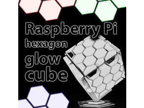 Raspberry Pi hexagon glow cube