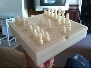 Chess Board with Case