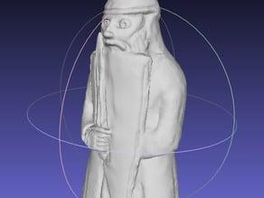 Lewis Chessmen Warder (Rook)