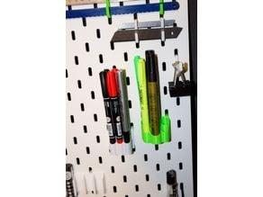 IKEA SKADIS - pen holders